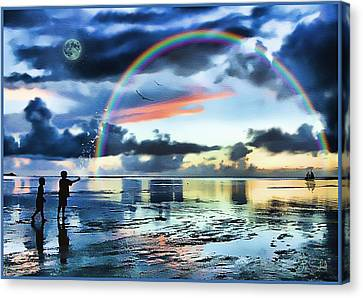 Tom Schmidt Canvas Print - Butterfly Heaven by Tom Schmidt