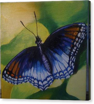 Butterfly Canvas Print by Jeff Arcel