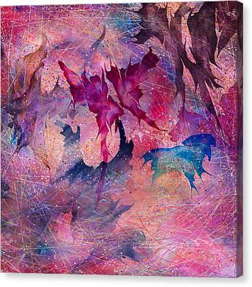 Butterfly Canvas Print by Rachel Christine Nowicki