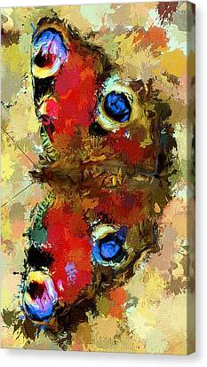 Butterfly Canvas Print by Yury Malkov