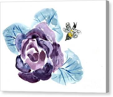Buzzzzzing Canvas Print by Ellen Miffitt