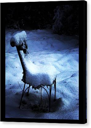 Canvas Print featuring the photograph By The Light Of The Moon by Susanne Still