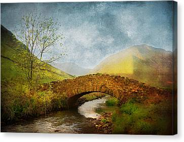 By The River Canvas Print by Svetlana Sewell