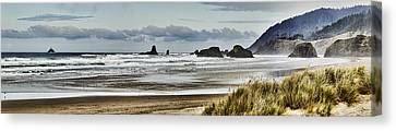 By The Sea - Seaside Oregon State  Canvas Print by James Heckt