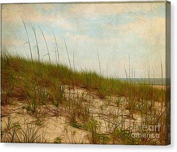 By The Sea Canvas Print by Judi Bagwell