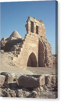 Byzantine Ruins Canvas Print by Photo Researchers, Inc.