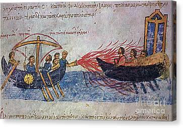 Byzantine Sailors  Canvas Print