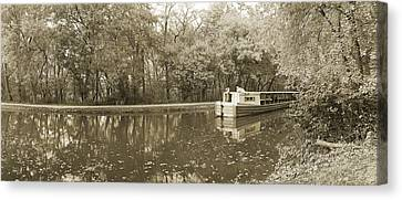 C-o Canal Lock 7 Canvas Print