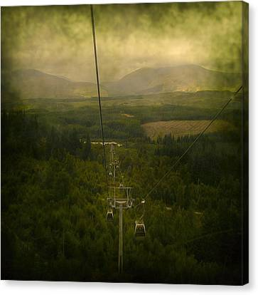 Cable Cars Canvas Print by Svetlana Sewell