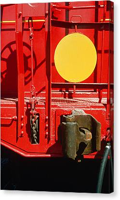Caboose Canvas Print by Jan W Faul