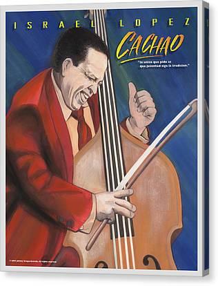 Cachao  Canvas Print by John Crespo Estrella