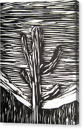 Cactus Canvas Print by Marita McVeigh