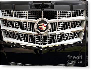 Cadillac . 7d9524 Canvas Print by Wingsdomain Art and Photography