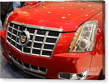 Cadillac . 7d9561 Canvas Print by Wingsdomain Art and Photography