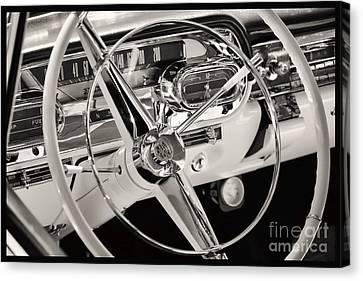 Cadillac Control Panel Canvas Print by Miso Jovicic