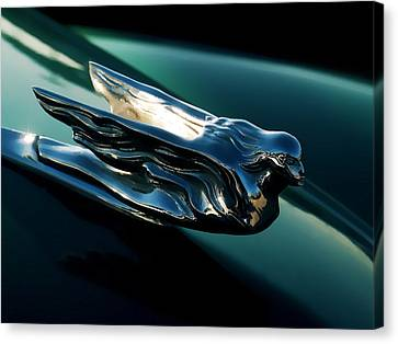 Cadillac Hood Angel Canvas Print by Douglas Pittman