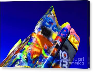 Cadillac Ranch 2 Canvas Print by Bob Christopher