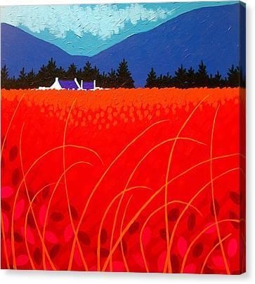 Cadmium Landscape Canvas Print by John  Nolan