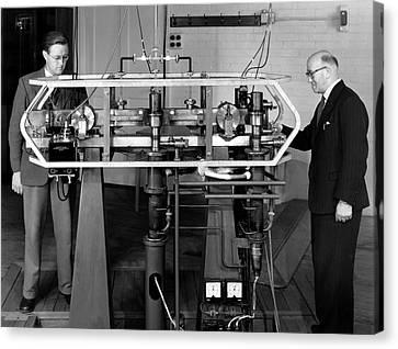 Caesium Atomic Clock, 1956 Canvas Print
