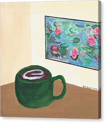 Cafe Monet Canvas Print