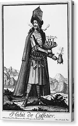 Caffetier Canvas Print - Cafe Owner, C1690 by Granger