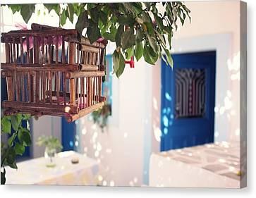Cage Canvas Print by Vickie Abby@Macau - flickr.com/vickieabby/