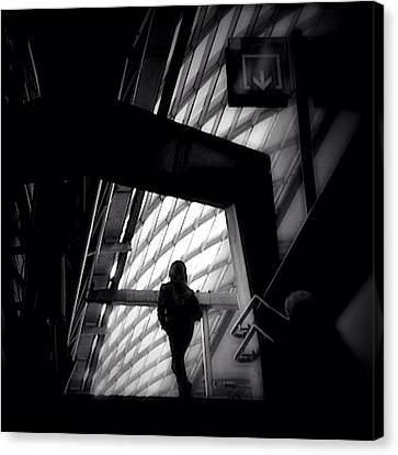 Igersoftheday Canvas Print - Caged Living - Concrete Jungle by Robbert Ter Weijden