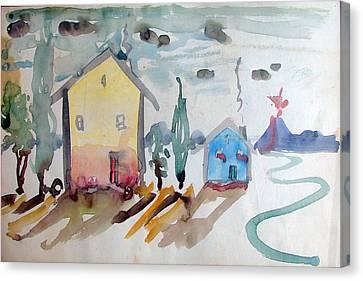 Caitlin's Fancy Canvas Print