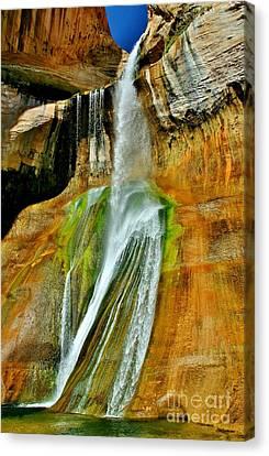 Calf Creek Falls II Canvas Print