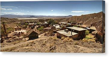 Calico Ghost Town 3 Canvas Print by Jessica Velasco