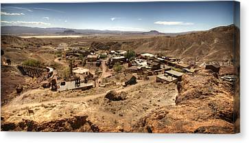 Calico Ghost Town 4 Canvas Print by Jessica Velasco