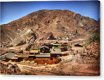 Calico Ghost Town 5 Canvas Print by Jessica Velasco
