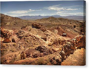 Calico Ghost Town 7 Canvas Print by Jessica Velasco