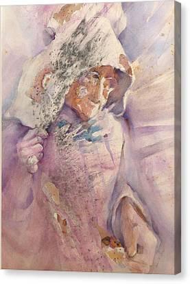 Calico Quaker Canvas Print