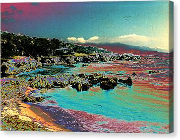 Canvas Print featuring the photograph California Dreaming by Louis Nugent