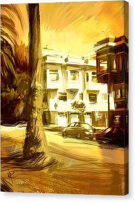 Apartment Canvas Print - California Gold by Russell Pierce