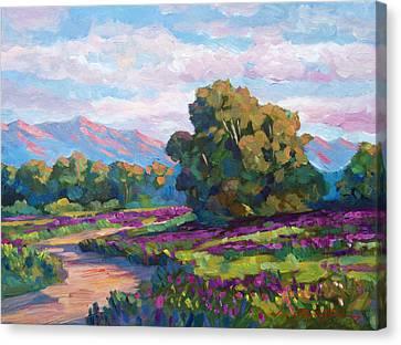 California Hills - Plein Air Canvas Print