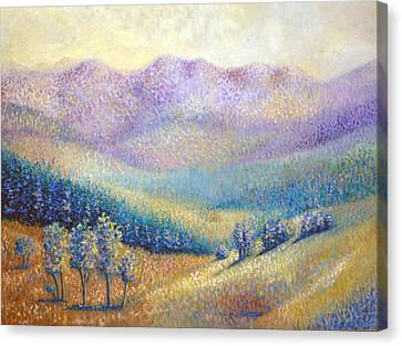 California Pleasant Canvas Print