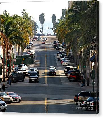 California Street Canvas Print by Henrik Lehnerer