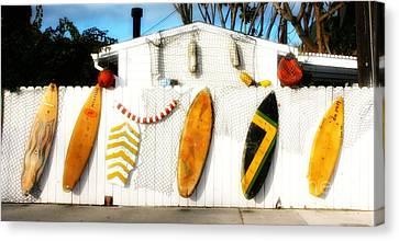 California Surf Shack Canvas Print