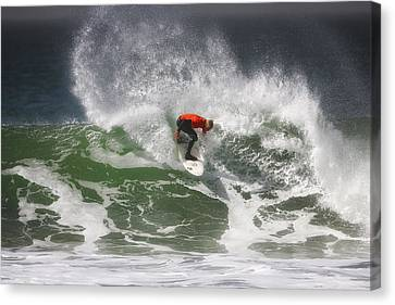 California Surfing 4 Canvas Print