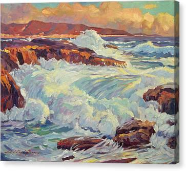 California's Coastline Canvas Print by David Lloyd Glover