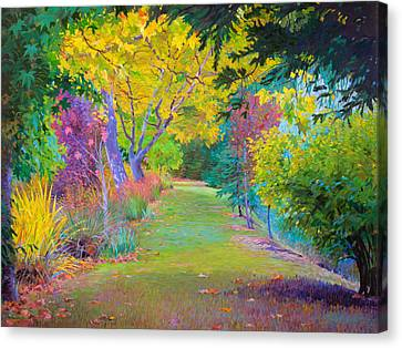 Calistoga Fall Canvas Print