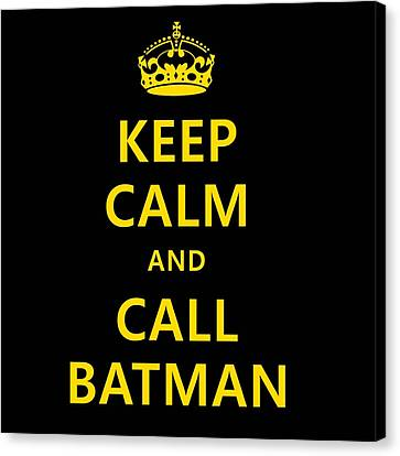 Call Batman Canvas Print