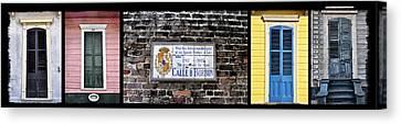 Calle D Borbon Canvas Print by Bill Cannon