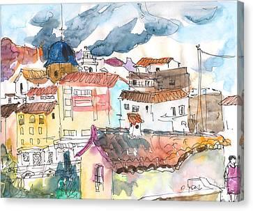 Callosa De Ensarria 02 Canvas Print by Miki De Goodaboom