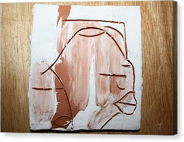 Calm - Tile Canvas Print by Gloria Ssali