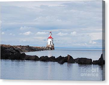 Calm Light Canvas Print by Whispering Feather Gallery