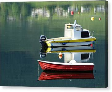 Canvas Print featuring the photograph Calm Waters by Lynn Bolt