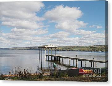 Canvas Print featuring the photograph Calm Waters by William Norton